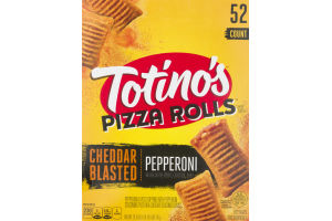 Totino's Pizza Rolls Cheddar Blasted/Pepperoni - 52 CT