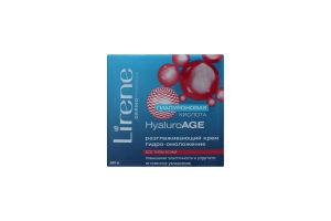 Крем для лица разглаживающий HyaluroAGE Lirene 50мл