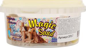 Набір для творчості класичний що світиться у темряві для дітей від 3років №370-7 Magic Sand Strateg 1шт