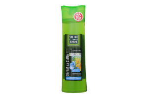 Шампунь для волосся Об'єм і сила Пшениця та льон Чистая Линия 400мл