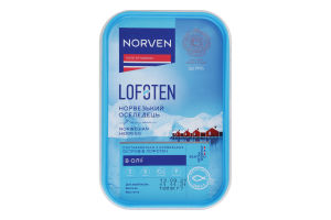 Оселедець в олії Lofoten Norven п/у 180г