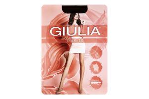 Колготки жіночі Giulia Like 20den 5-XL сappuccino