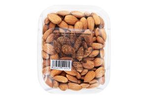 Миндаль ядра ореха жареные соленые Натуральні продукти п/у 250г