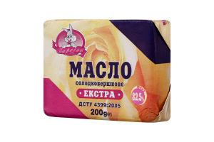Масло 82.5% сладкосливочное Экстра Заречье м/у 200г