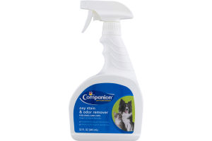 Companion Oxy Stain & Odor Remover For Dogs And Cats