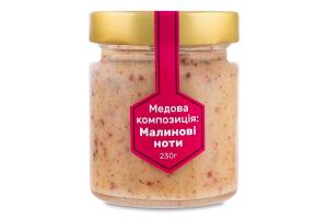 Медова композиція Малинові ноти Медова еліта с/б 230г