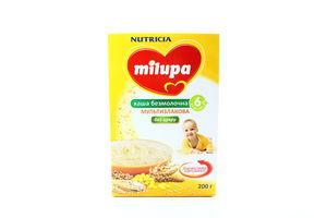 Каша безмолочная мультизлаковая Milupa Nutricia к/у 200г