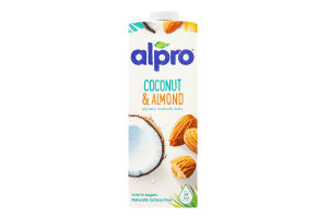 Напій кокосово-мигдальний Alpro т/п 1л Бельгія х8