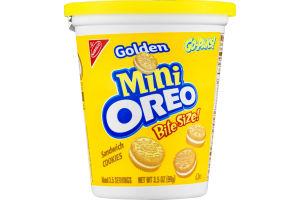 Nabisco Golden Mini Oreo Bite Size Sandwich Cookies