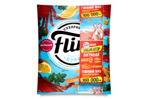Сухарики пшенично-житні зі смаком крабу Flint м/у 70г
