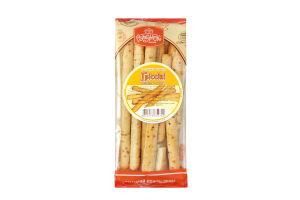 Палички хлібні Рум`янець Гріссіні з цибулею та кропом 200г
