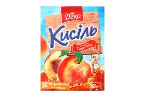 Кисель со вкусом персика Деко м/у 65г