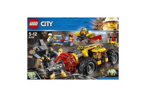 LEGO® City Тяжелый бур для горных работ 60186