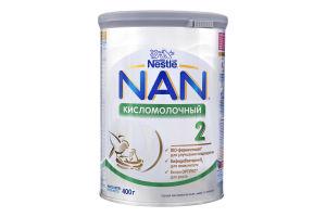 Смесь кисломолочная сухая для детей от 6мес №2 Кисломолочный Premium NAN ж/б 400г