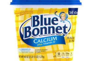 Blue Bonnet Calcium Plus Vitamin D 39% Vegetable Oil Spread
