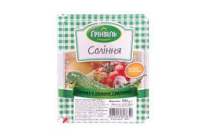 Соления Томаты соленые зеленые Грінвіль в/у 850г