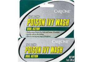 CareOne Fast Acting Dual Action Poison Ivy Wash