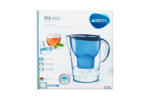 Фільтр для води синій 3.5л №1026460 Marella Xl Brita 1шт