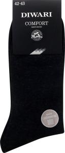 DIWARI шкарпетки Comfort 15С-66СП 000 чол.р.27 чорний