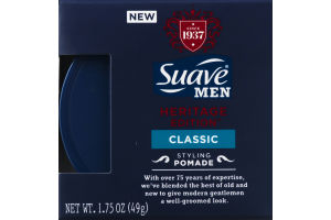 Suave Men Heritage Edition Styling Pomade Classic