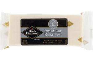 Black Diamond Premium Reserve Natural Sharp Cheddar Cheese
