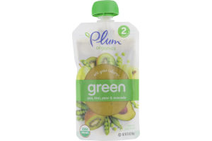 Plum Organics Eat Your Colors Green