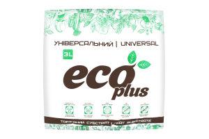 Субстрат торфяной Универсальный Eco plus 3л