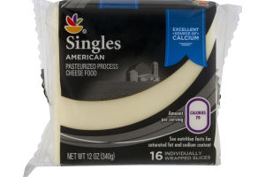 Ahold Cheese Singles American