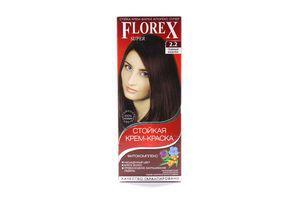 Крем-краска для волос Темный каштан №2.2 Florex Super
