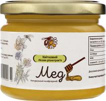 Мед натуральний квітковий лісове різнотрав'я, вищого ґатунку.