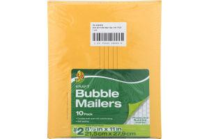 Duck Kraft Bubble Mailers #2 - 10 PK