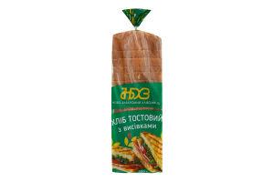 Хлеб тостовый с отрубями Ново-Баварський хлібозавод м/у 500г