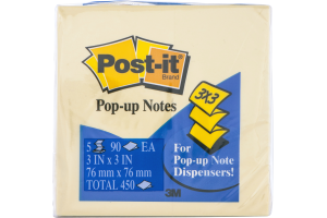Post-it Pop-Up Notes - 5 PK