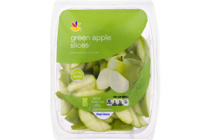 Ahold Slices Green Apples