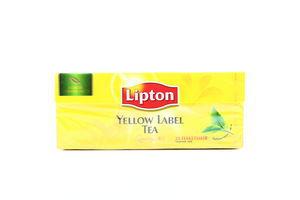 Чай черный Yellow Lable Lipton ф/п 2г*25шт