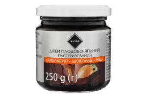 Джем плодово-ягодный Апельсин-шоколад-мед Rioba с/б 250г