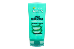 Бальзам-ополаскиватель для волос укрепляющий Алоэ Аква Бомба Fructis Garnier 200мл