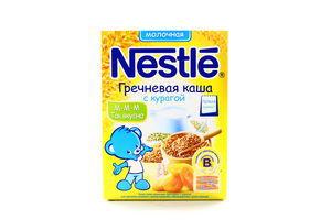 Каша молочная гречневая с курагой Nestle 250г