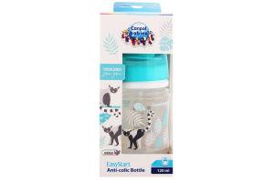 Пляшка для годування з широким отвором антіколіковая №35/226_grey Easystart Canpol babies 120мл