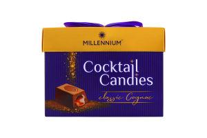Цукерки шоколадні Cocktail Candies Millennium к/у 170г