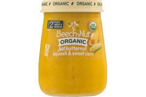 Beech-Nut Organic Just Butternut Squash & Sweet Corn