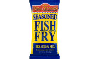 New Orleans Seasoned Fish Fry Breading Mix