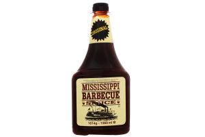 Соус Original Mississippi Barbecue Sauce п/бут 1814г