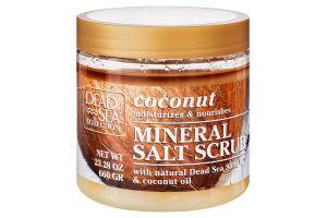 Скраб для тела с минералами Мертвого моря и маслом кокоса Dead Sea Collection 660г