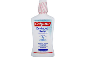 Colgate Dry Mouth Relief Moisturizing Mint Fluoride Mouthwash