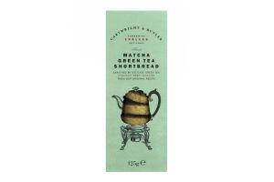 Печенье Cartwright&Butler вкус зеленого чая матча