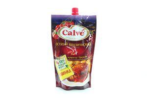 Кетчуп острый Бразильский Calve д/пак 350г