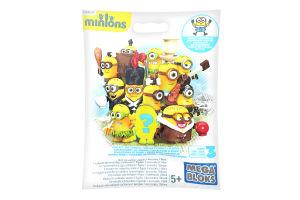 Фигурка коллекционная для детей от 5лет №CNF46 Миньоны с аксессуарами Mega Bloks 1шт