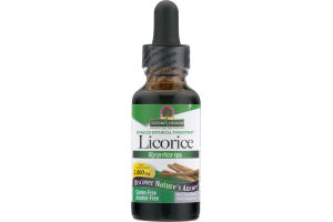 Nature's Answer Herbal Supplement Licorice