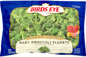 Birds Eye Deluxe Baby Vegetables Baby Broccoli Florets